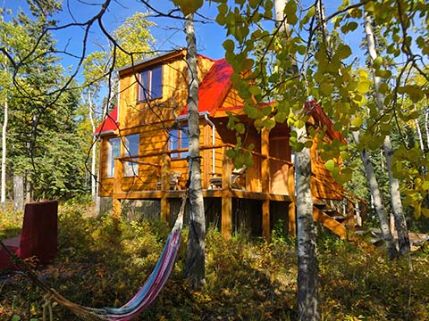 Yukon Lake View Cabin