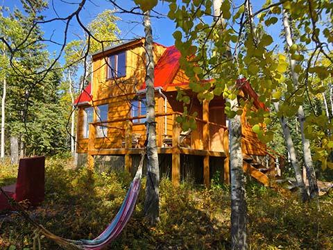 Yukon Lake View Cabin